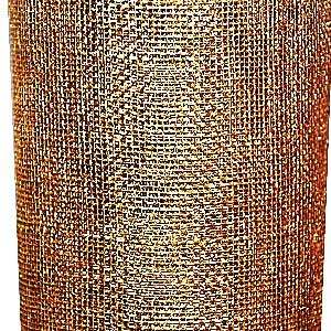 Sinamay-MetallicGold